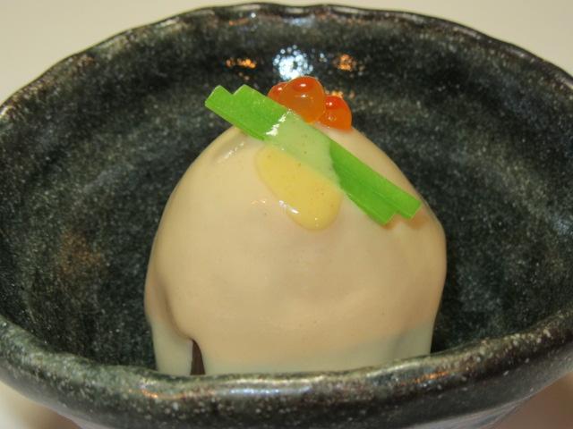 いちじくの西京煮,ごまがけ