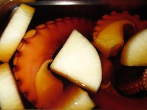 たこをやわらかく煮る方法,蒸し煮