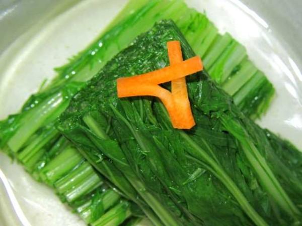 水菜,色出し煮,みずな