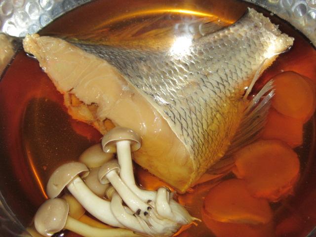 鯛あっさり煮,しめじ,たい