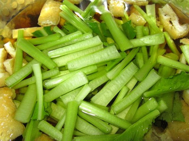 小松菜,こまつなあげ煮,油揚げ2