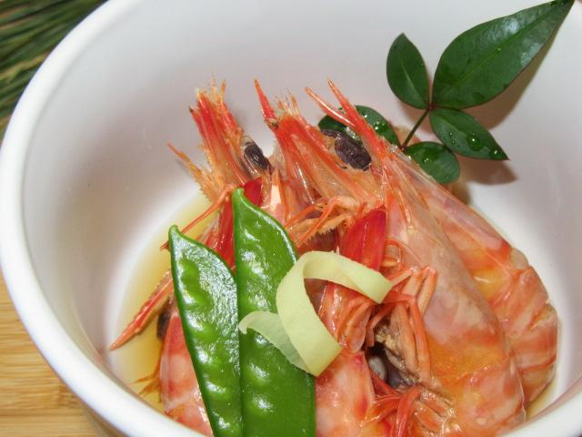 車海老の旨煮,くるまえび,おせち料理,正月の献立