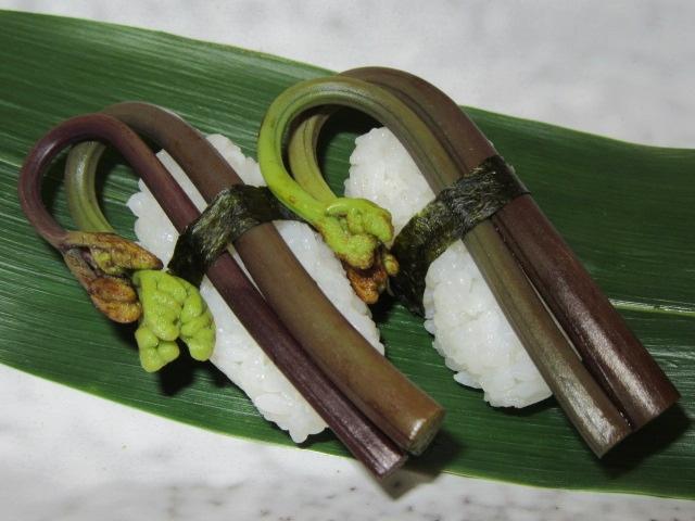 わらび寿司の画像