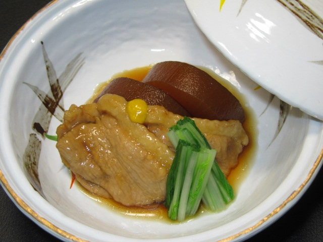 鴨,かものじぶ煮,冬の献立