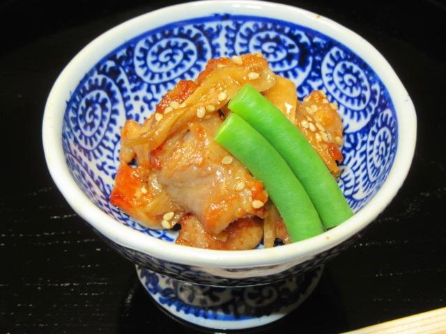 鶏肉とごぼうの炒め煮