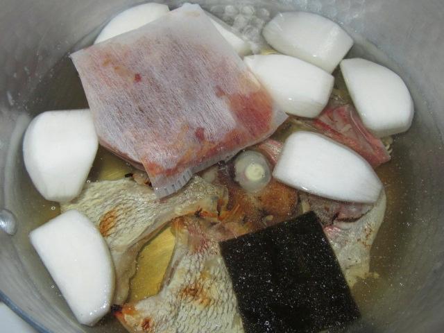 たいかぶらの吸い地煮の作り方手順とコツ