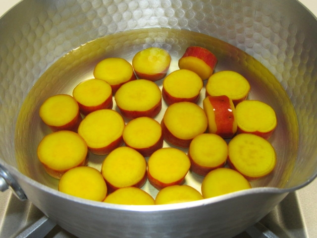さつま芋の蜜煮,丸十