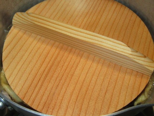 巻き寿司のかんぴょうの煮物方法と煮汁割合落とし蓋の工程,巻き寿司の具の作り方手順