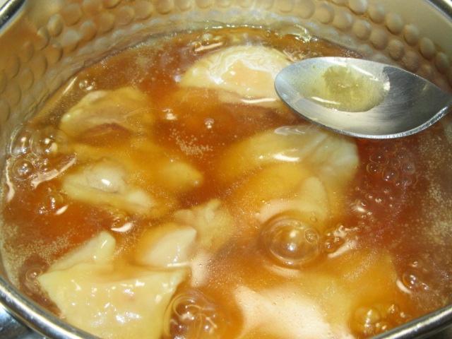 地鶏の吉野煮と子芋、湯葉のたき合わせ,鶏肉の治部煮の作り方手順