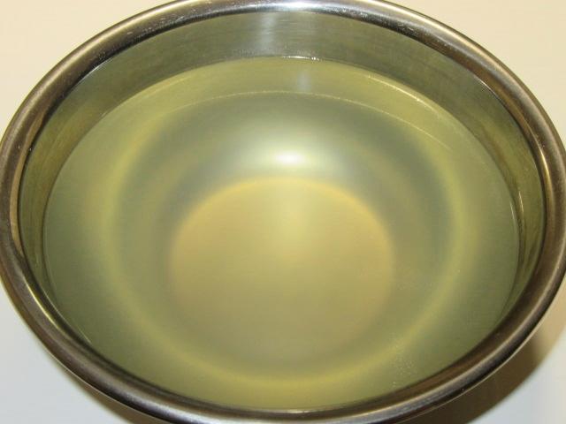 吸い物用の鶏だし,澄ましたとりスープの作り方手順