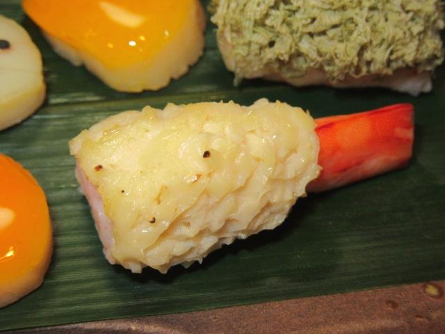 くるま海老の東寺焼き,湯葉料理の献立