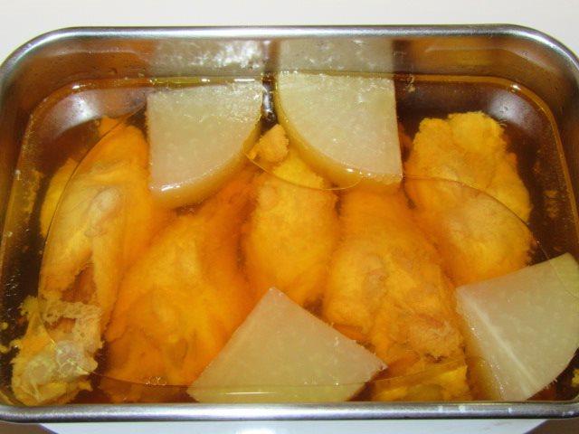 骨つき鶏の蒸し煮の作り方,完成写真