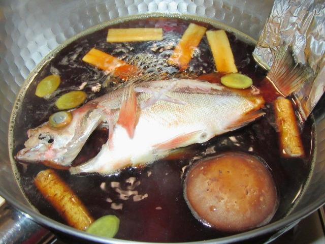 めばるの煮つけ,煮魚の作り方と割合