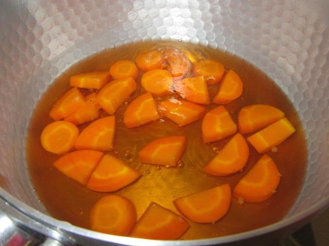 人参の煮物の作り方