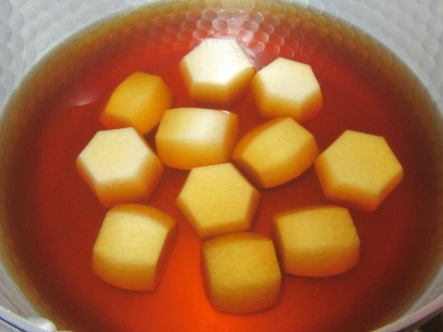 里芋の煮物の作り方手順,仕上がり写真