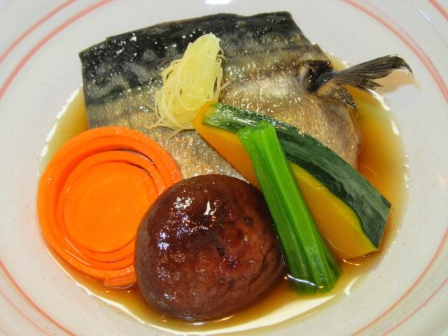 鯖と野菜のたき合わせ