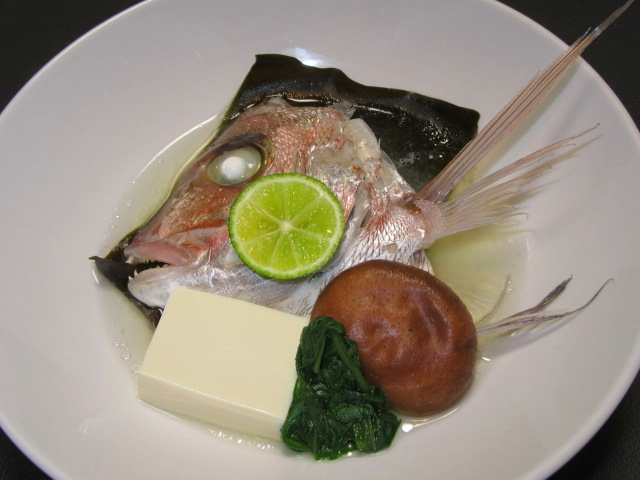 鯛の酒蒸しの作り方,骨蒸し手順