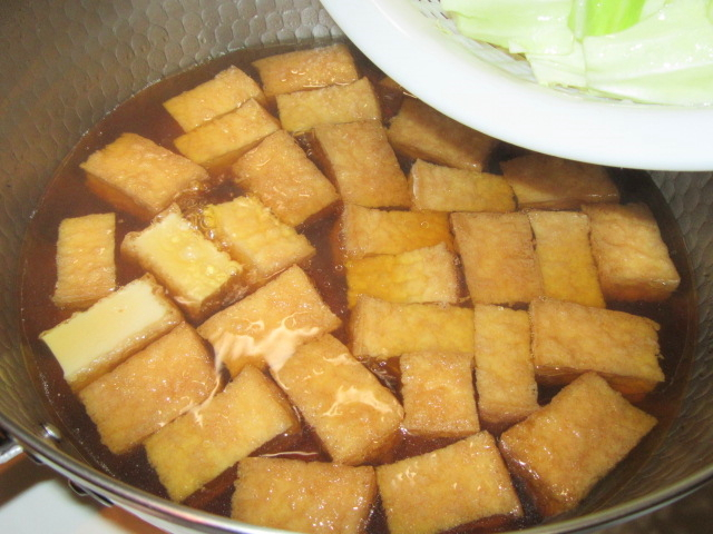 厚揚げとキャベツの煮物の作り方
