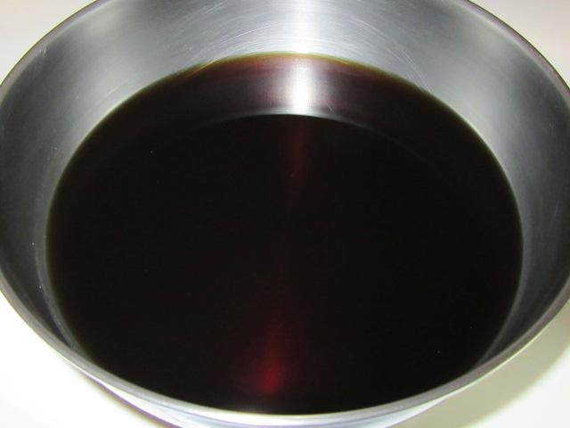 えのき茸のうま煮の作り方手順,煮汁の合わせ調味料
