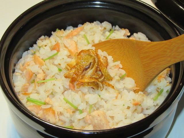 秋鮭の混ぜご飯