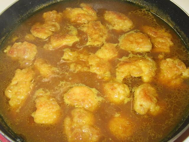 鶏もも肉のカレー煮の作り方手順