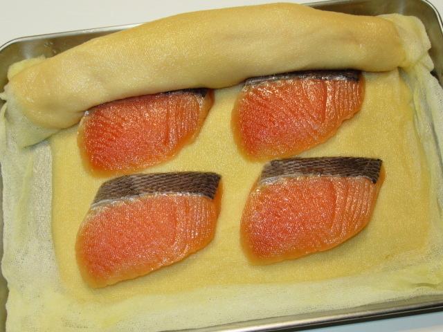 鮭の味噌漬けの作り方,白味噌床