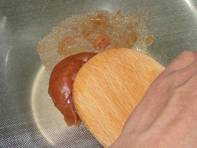 梅肉の作り方から梅干しの裏ごし工程